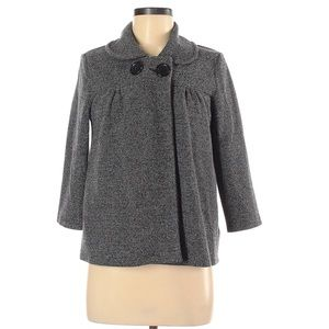 H&M Classic Swing Coat/Cape with Buttons